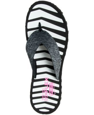 f0adf46e9771 Skechers Women s Go Flex - Vitality Flip Flop Sandals from Finish Line -  Black 10