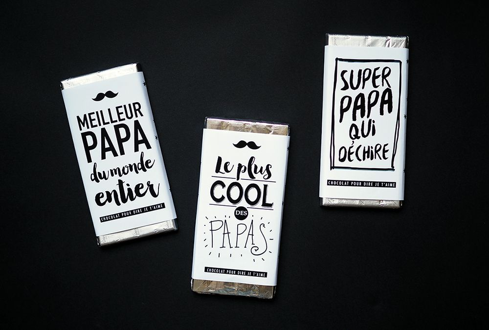 Favorit printable-chocolat-papa-enveloppe tablette chocolat | A imprimer  TV42