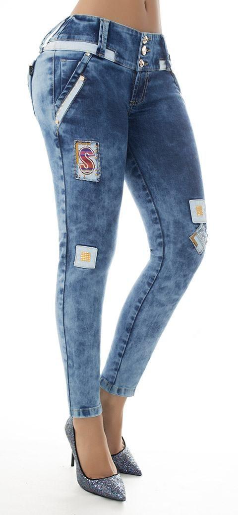 8ebc0549dd801 Jeans levanta cola REVEL 5941 - Jeans Colombianos