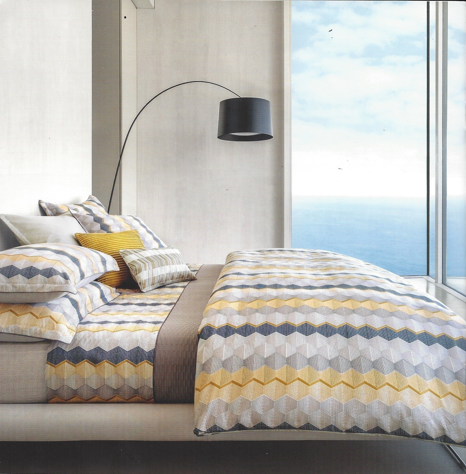 Complete Your Bedroom With The Fun Print From Hugo Boss Made Of