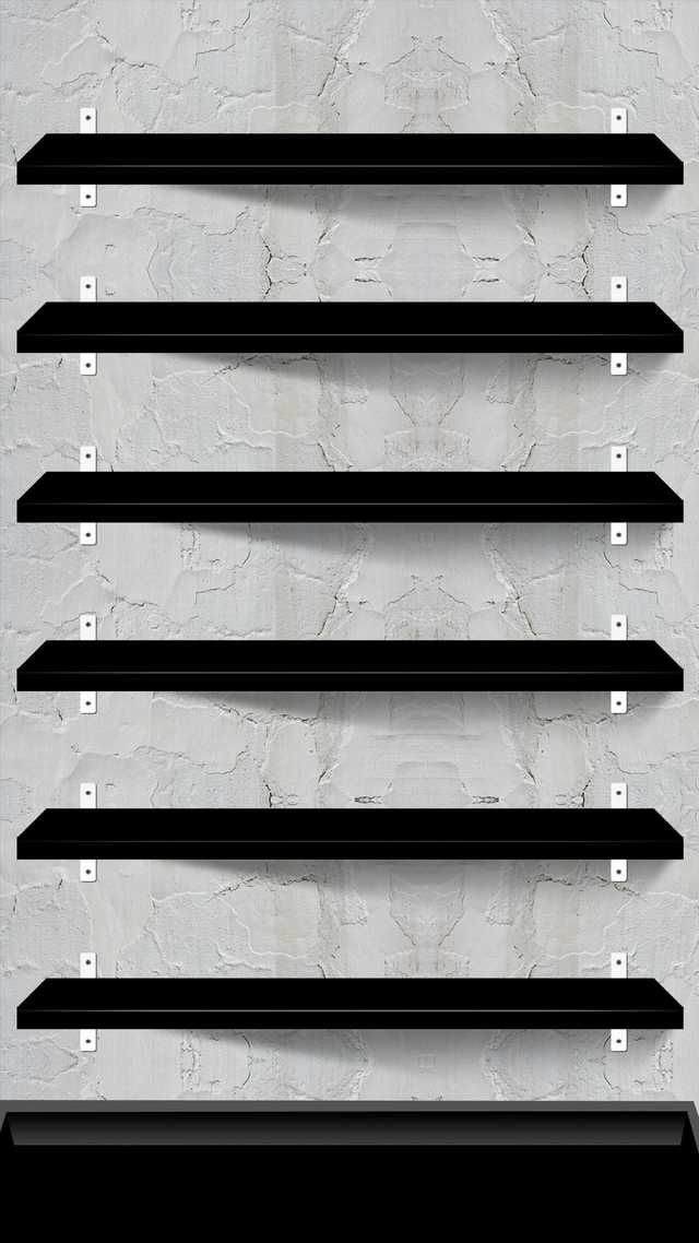 10 Creative Shelves Wallpapers For The Iphone 6 Plus Iphone Homescreen Wallpaper Iphone 7 Plus Wallpaper Wallpaper Shelves