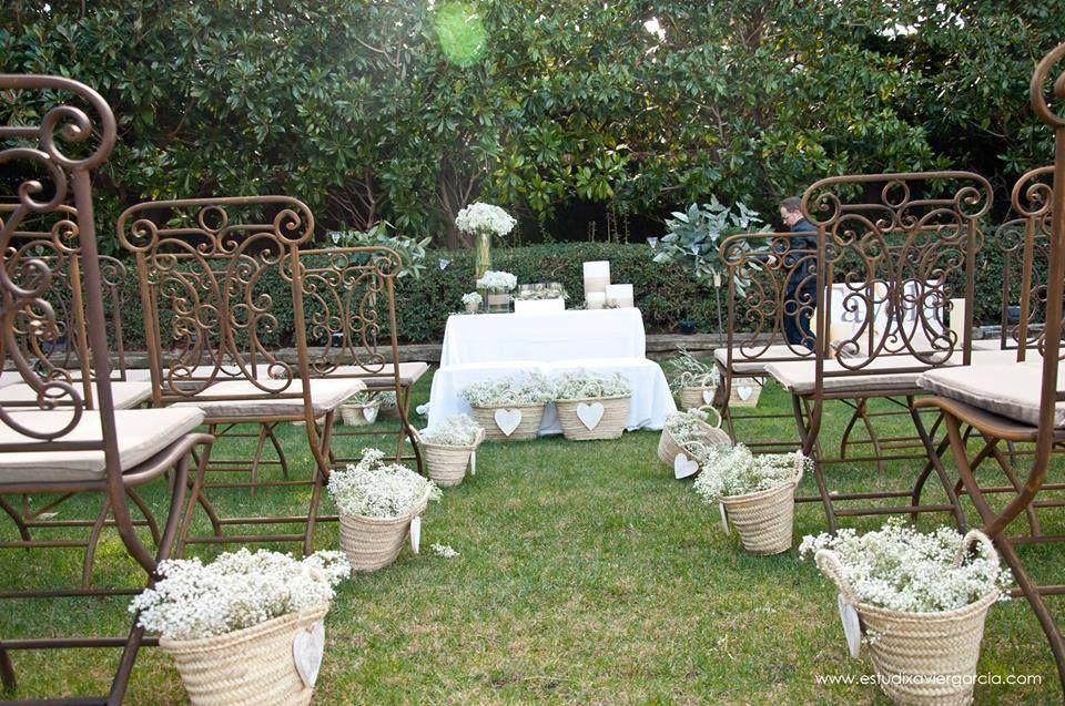 Cestas para bodas ☆ Decoración con mimbre ☆ Pepita Guirnalda