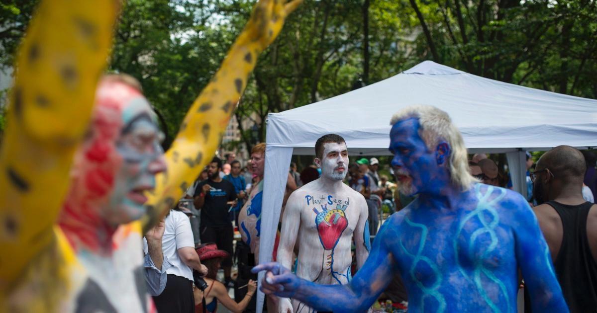 2017 NYC Bodypainting Day @ Washington Square Park