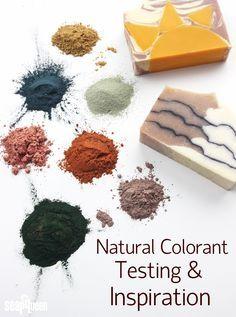 Natural Colorant Testing Inspiration Soap Queen Homemade Soap Recipes Soap Recipes Natural Soap Colorants