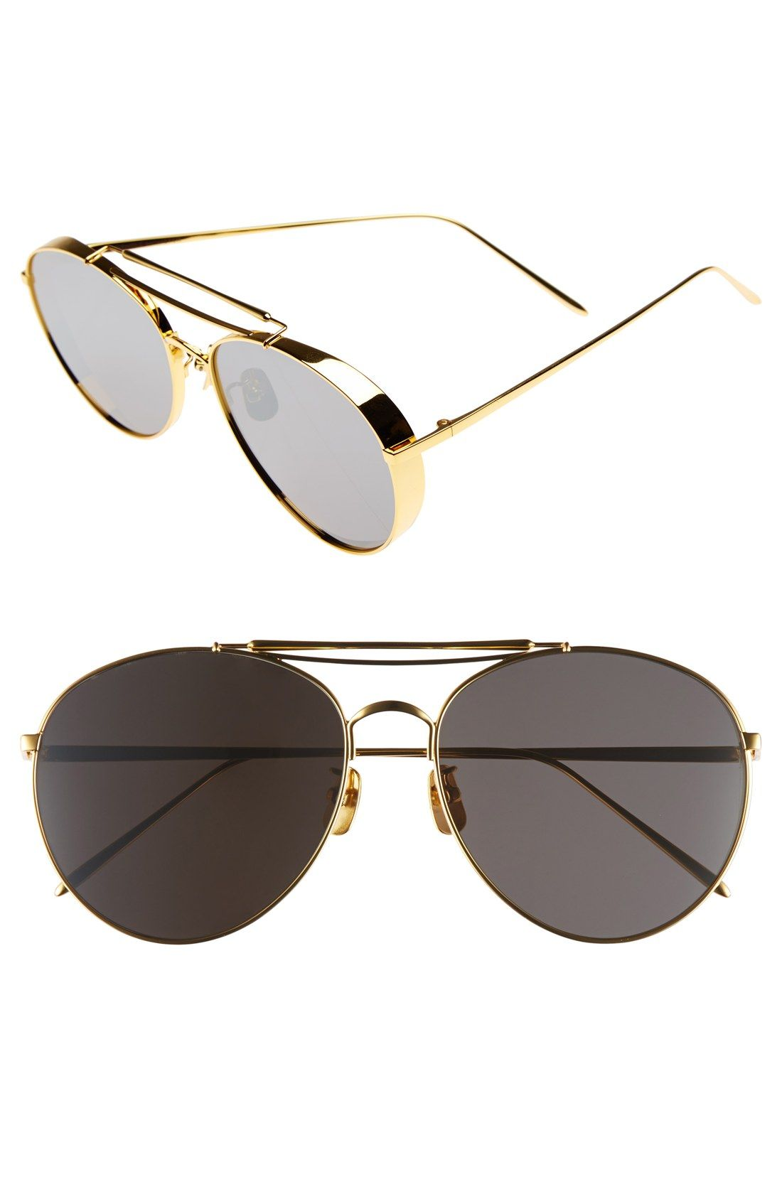 ad77d513099 Gentle Monster 60mm Aviator Sunglasses  305- Nordstrom