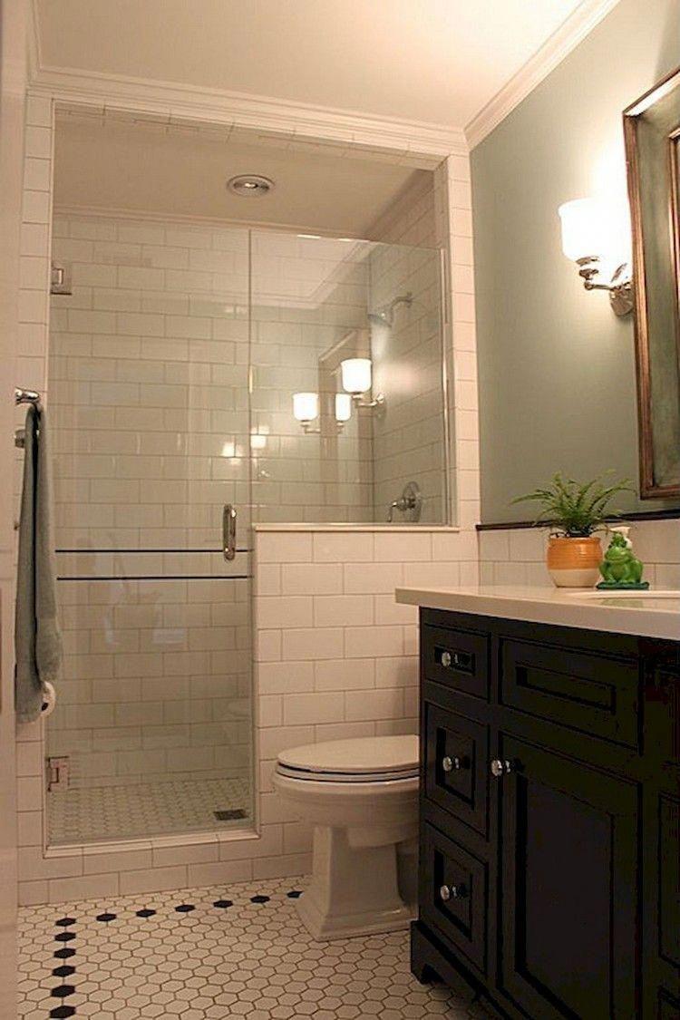 60 Elegant Fresh And Cool Small Bathroom Remodel Ideas On A Budget Bathroom Ba Basement Bathroom Remodeling Bathroom Remodel Cost Small Bathroom With Shower