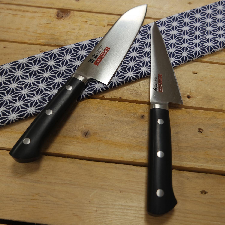 Couteaux Masahiro Mbs26 En 2020 Couteau De Cuisine Japonais Couteau De Cuisine Couteau