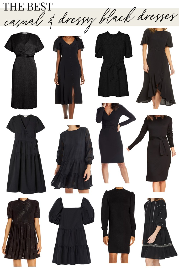 The Best Casual Dressy Black Dresses For The Love Dressy Casual Black Dress Dressy Black Dress [ 1125 x 750 Pixel ]