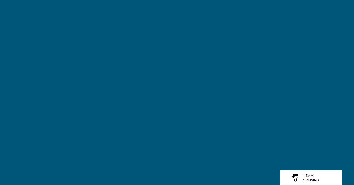 T1203 Teknoksen maalisävy petrooli denim sekoitus