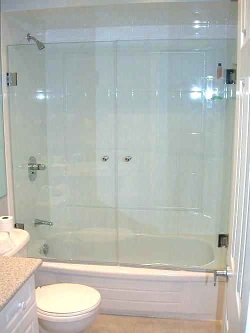 Shower Over Tub With Glass Google Search Glass Shower