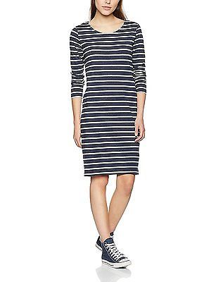 Vero Moda VMVIGGA 3/4 Sleeve ABK Dress, Vestido Mujer, Negro (Black), 38 (Medium)