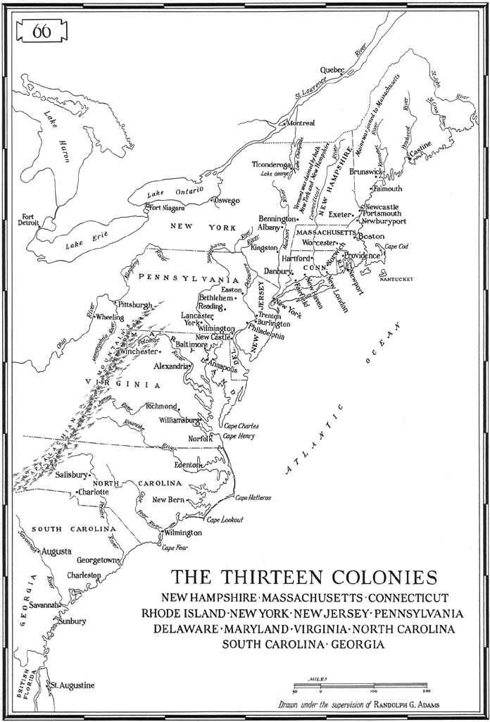 US Original Colonies Historical Places Persons Pinterest - Original thirteen colonies map