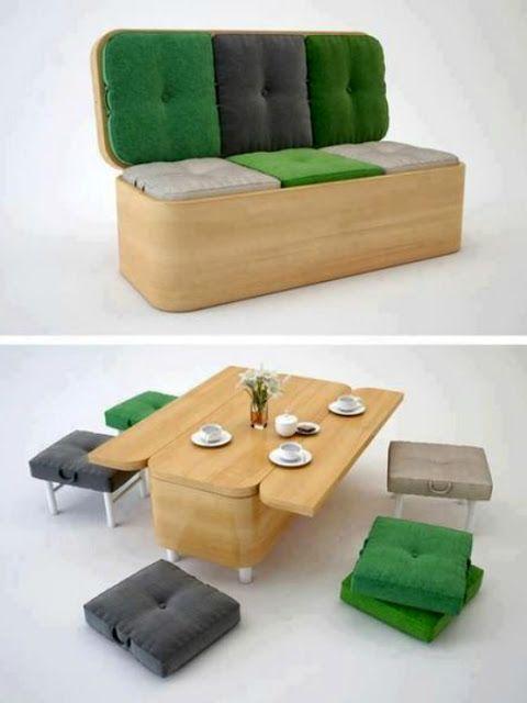 20 Multi Purpose Convertible Furnitures For Small Spaces 14 Furniture For Small Spaces Compact Furniture Modular Furniture