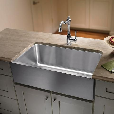 Blanco Magnum 30 Large Single Bowl Sink With Apron Stainless Stee