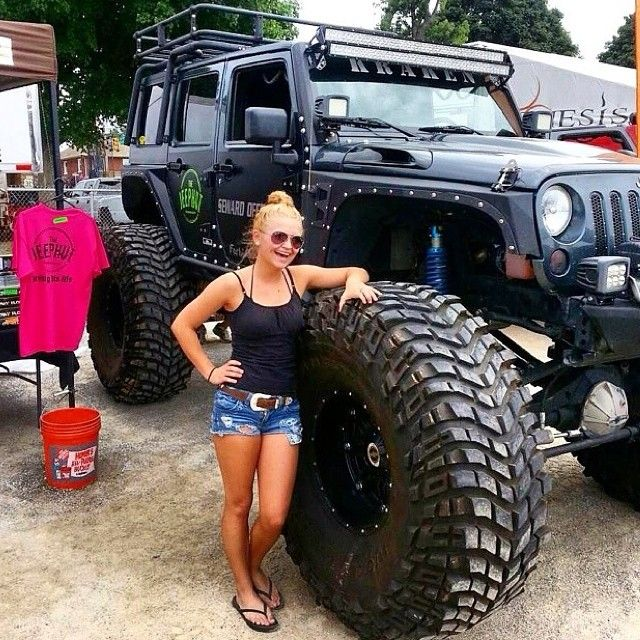 ndiiiigrimes with the Kraken at the PA JEEP SHOW #jeepher from ...