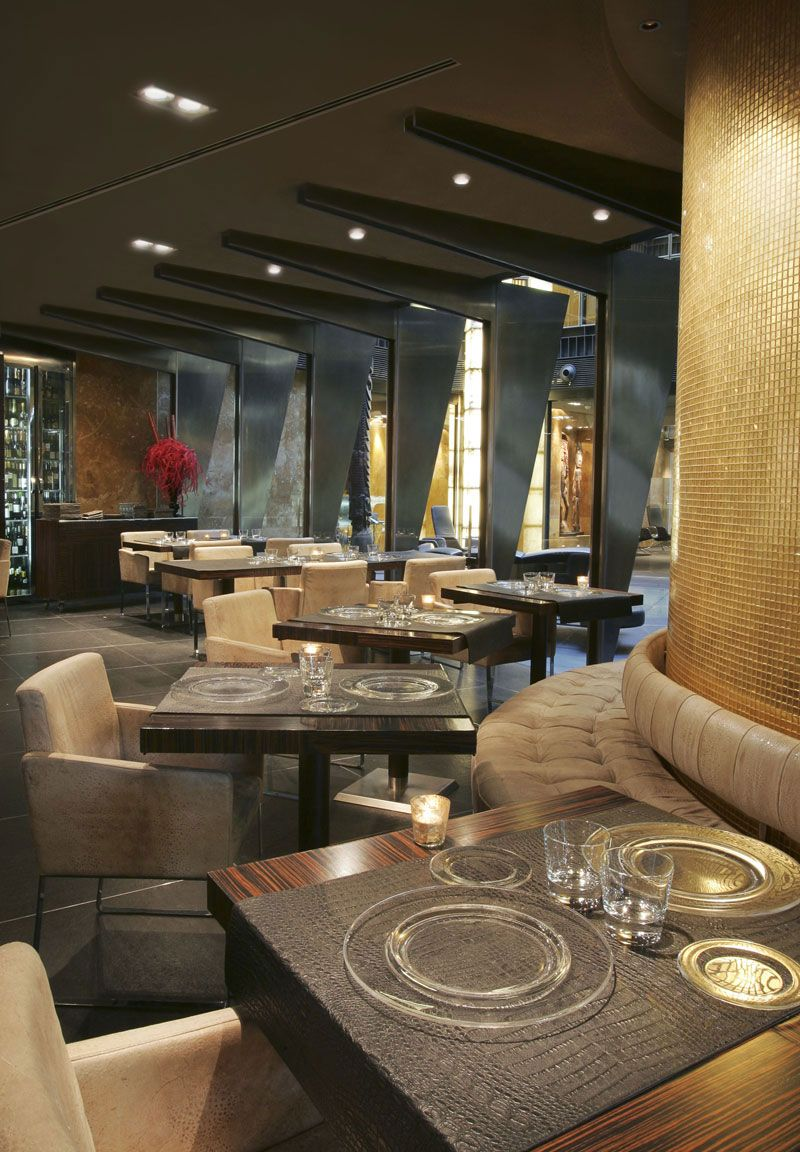 Wohndesign innenarchitektur restaurant at the urban hotel madrid derby hotels collection