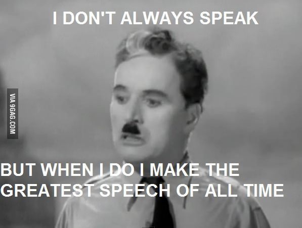 Charlie Chaplin Final Speech In The Great Dictator Charlie Chaplin Quotes Charlie Chaplin Movie Quotes