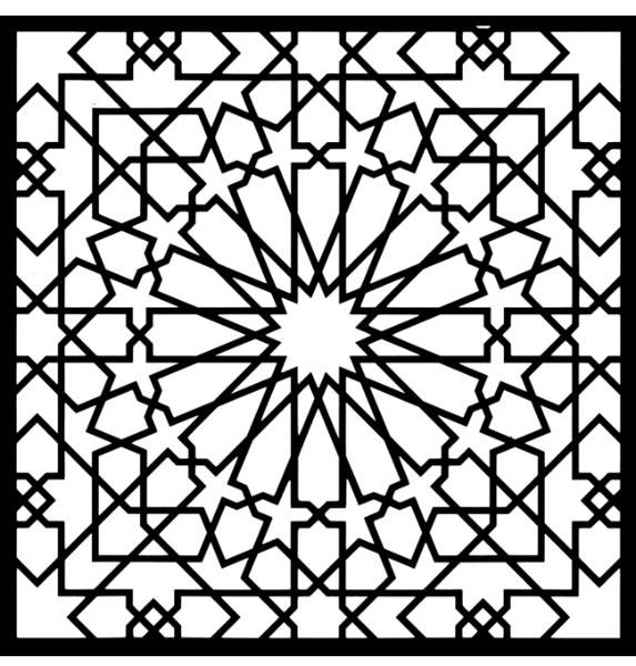 coloring pages :: alhambra color image by tharens