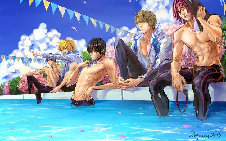 Free Anime Iwatobi Swim Club A435 Hd Wallpaper With Images