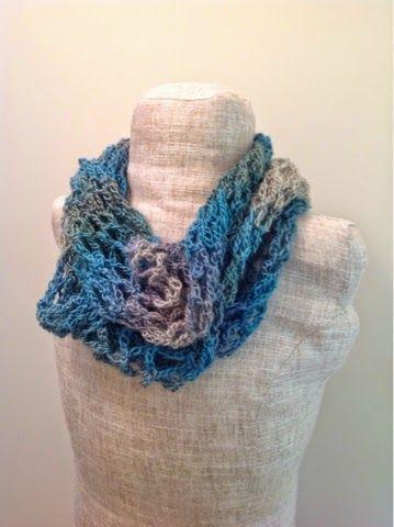 Undeniable Glitter: Ocean Net Scarf - free crochet pattern ...