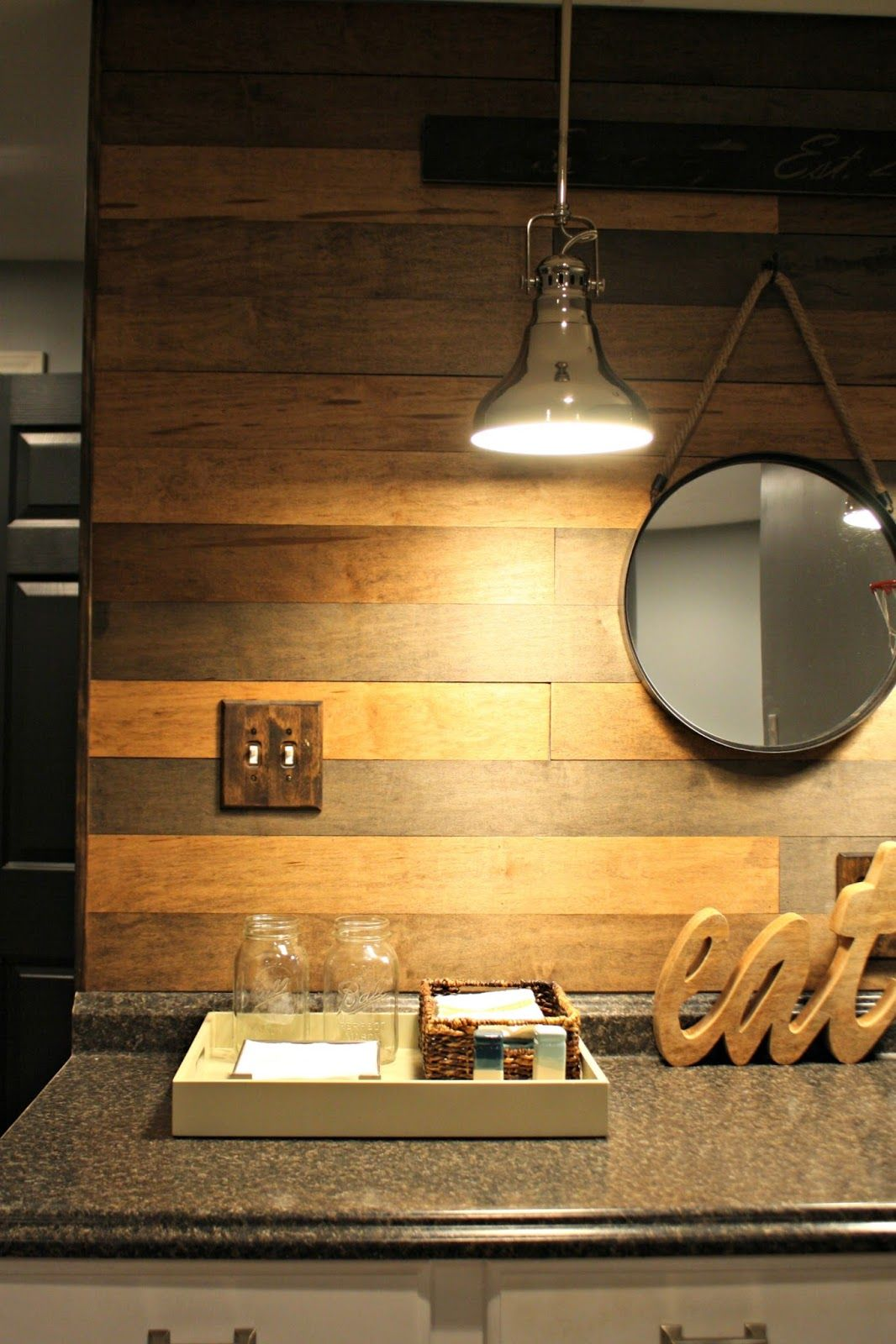 My New Favorite Wood Planked Wall | Wood plank walls, Planked walls ...