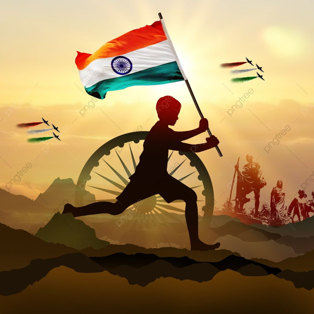 Independence Day Of India In