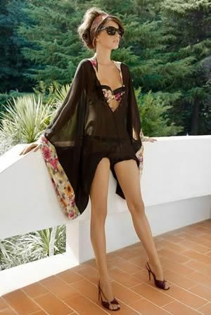 5ecfc58511915 Sheer kaftan with matching bikini & headband | lookin good | Fashion ...