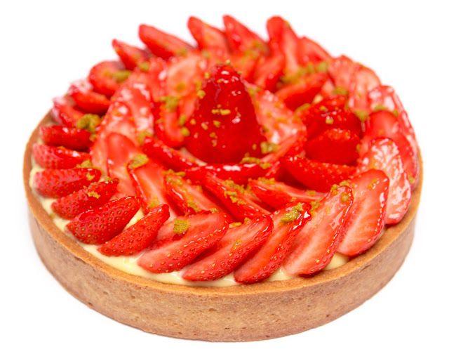 la cuisine de bernard: la tarte aux fraises | cuisine du monde