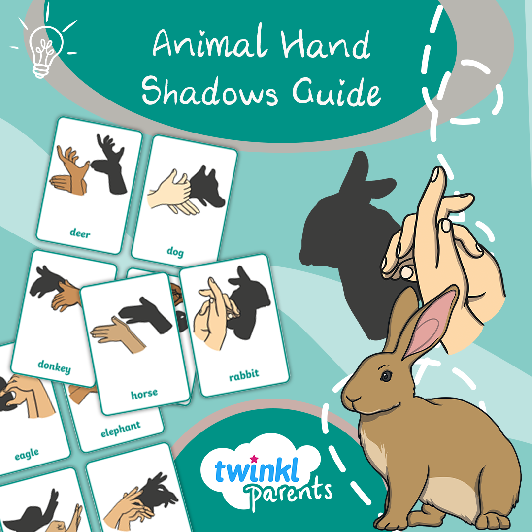 Animal Hand Shadows Guide In