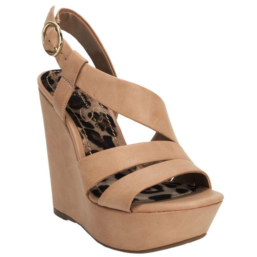 7209ea18774d Jessica simpson claria strap wedge vonmaur shoe envy pinterest jpg 900x900 Wedge  shoes jessica simpson brown