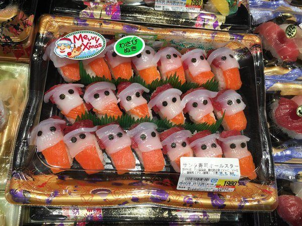 http://www.japantoday.com/category/food/view/santa-sushi-spotted-in-japan