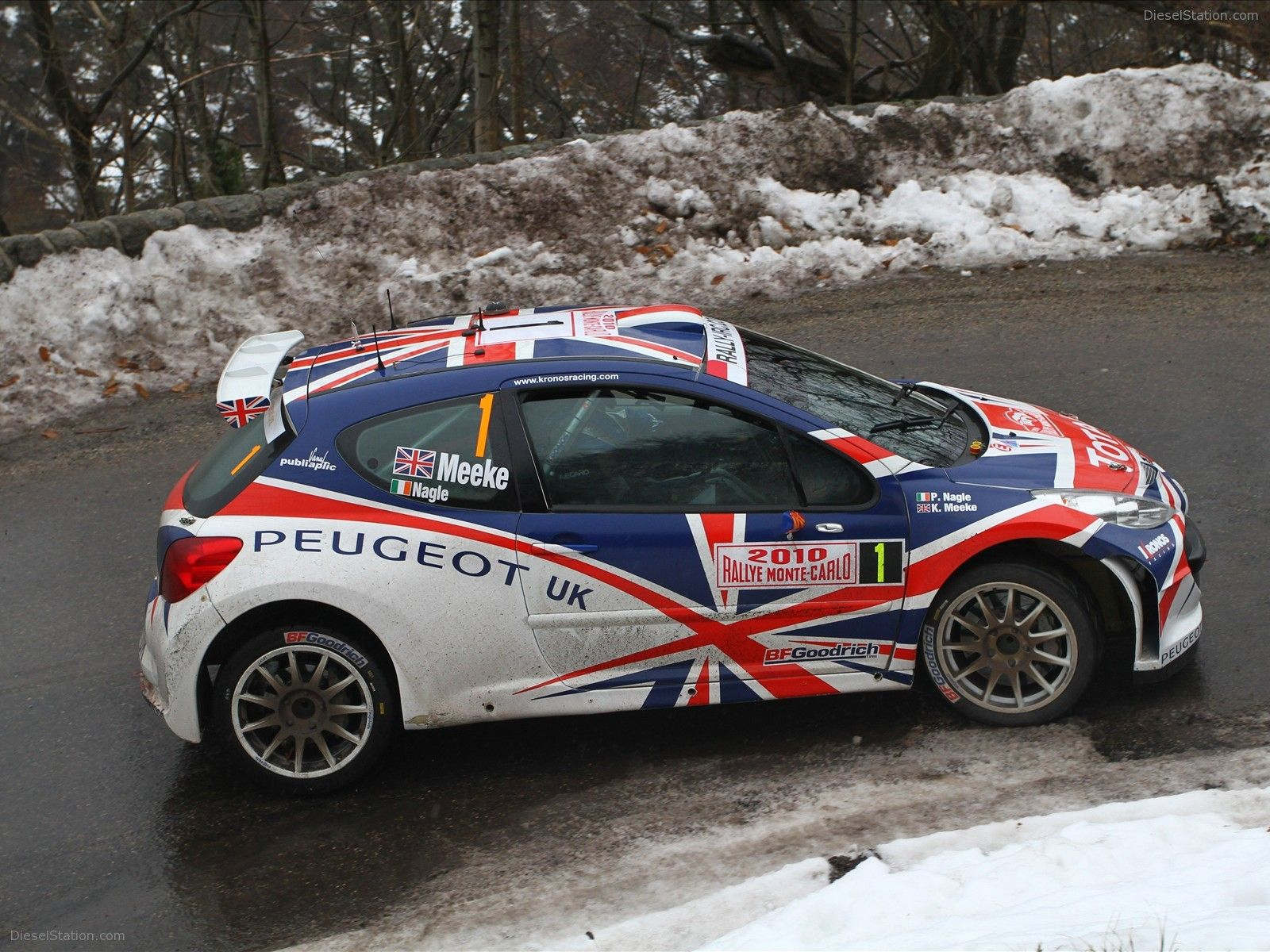 Peugeot 207 S2000 at 2010 Monte Carlo Rally  Rally MonteCarlo