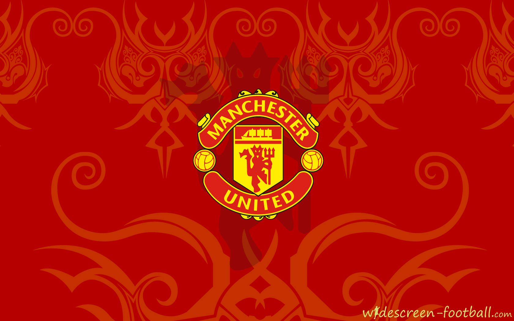 Get Best Manchester United Wallpapers Black Manchester United Logo HD