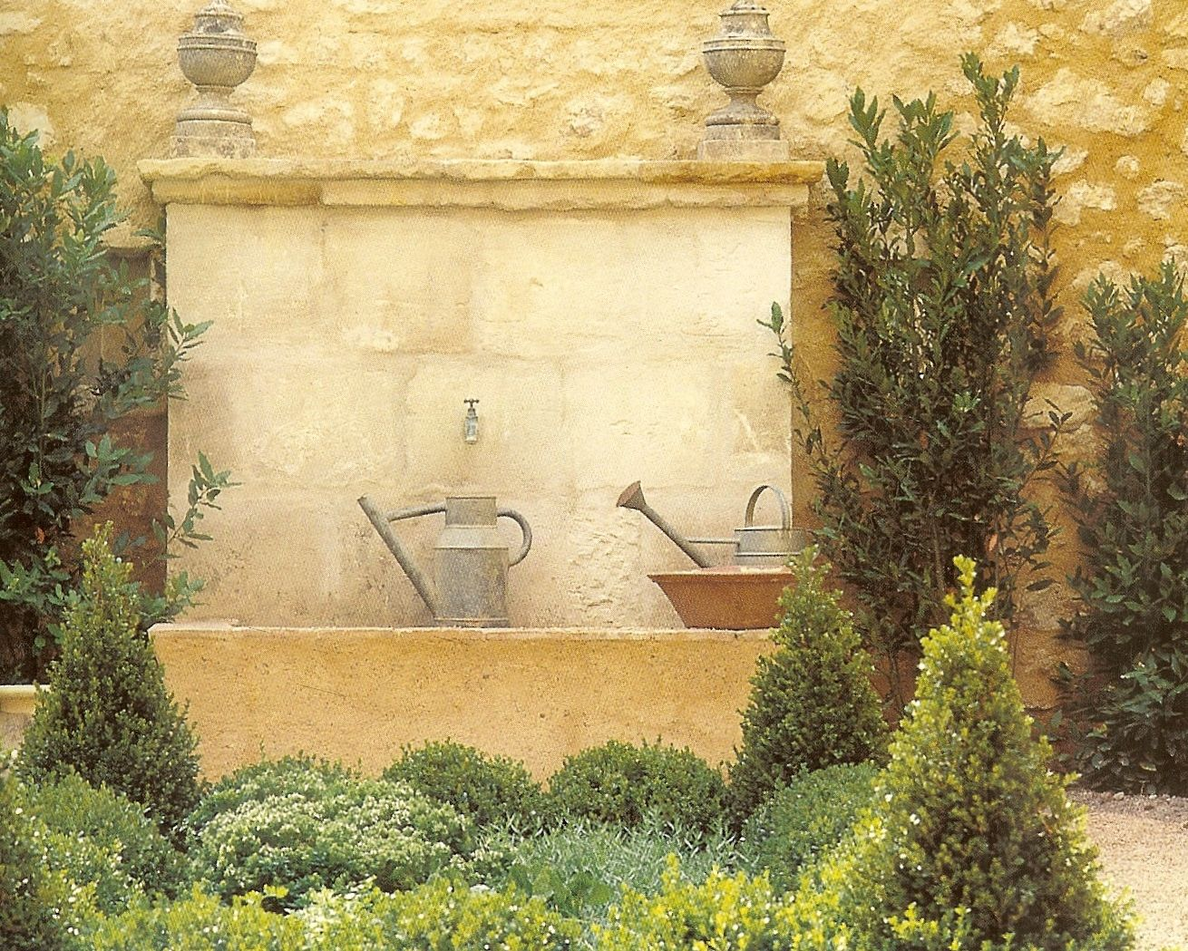 fountain texture | lakehouse (Villa Cantina) garden room inspiration ...