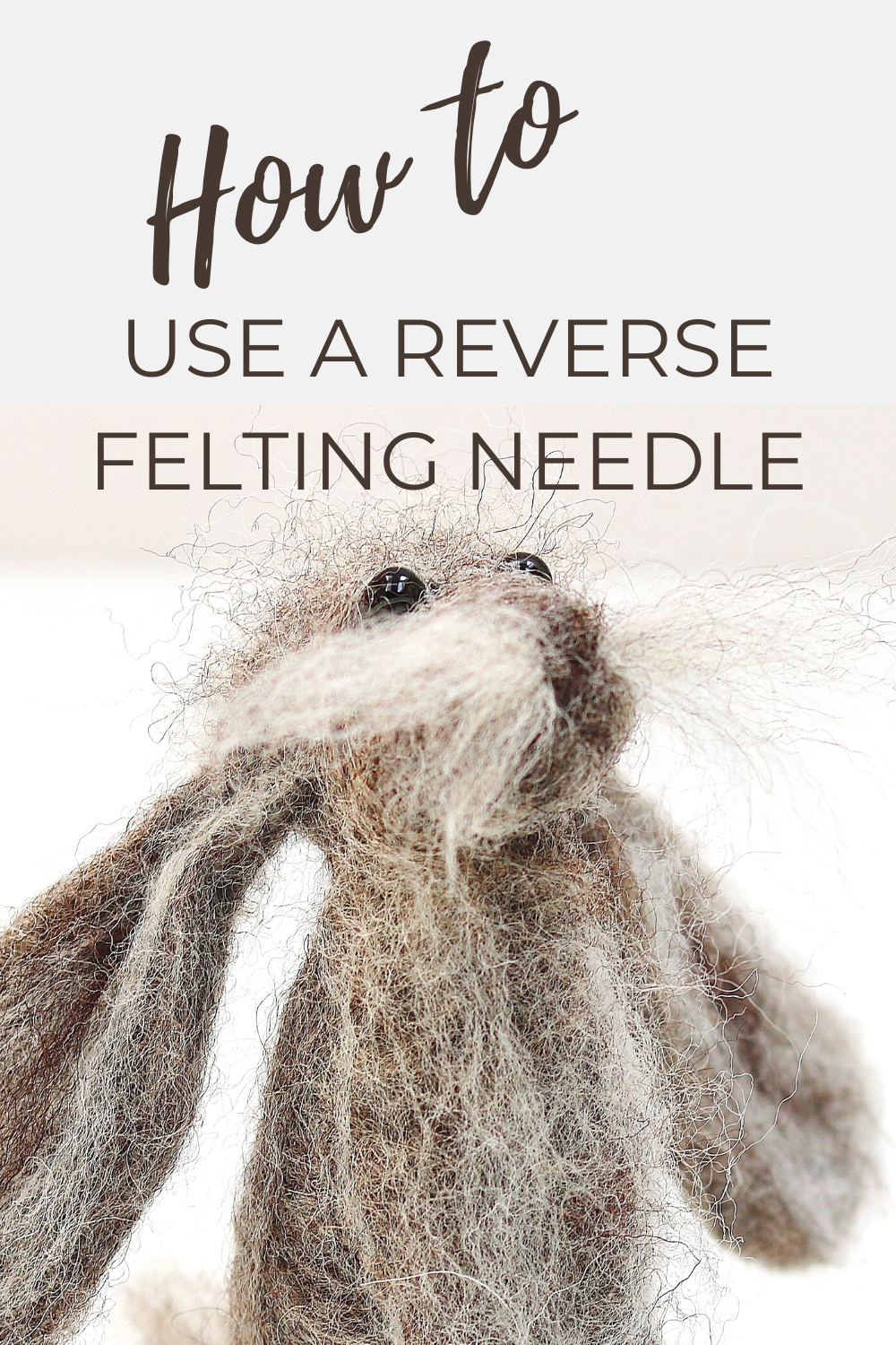 What size felting needle should I use?