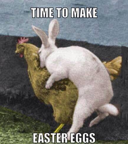 So that's how Easter eggs are made!!! I've always wondered about that!!!
