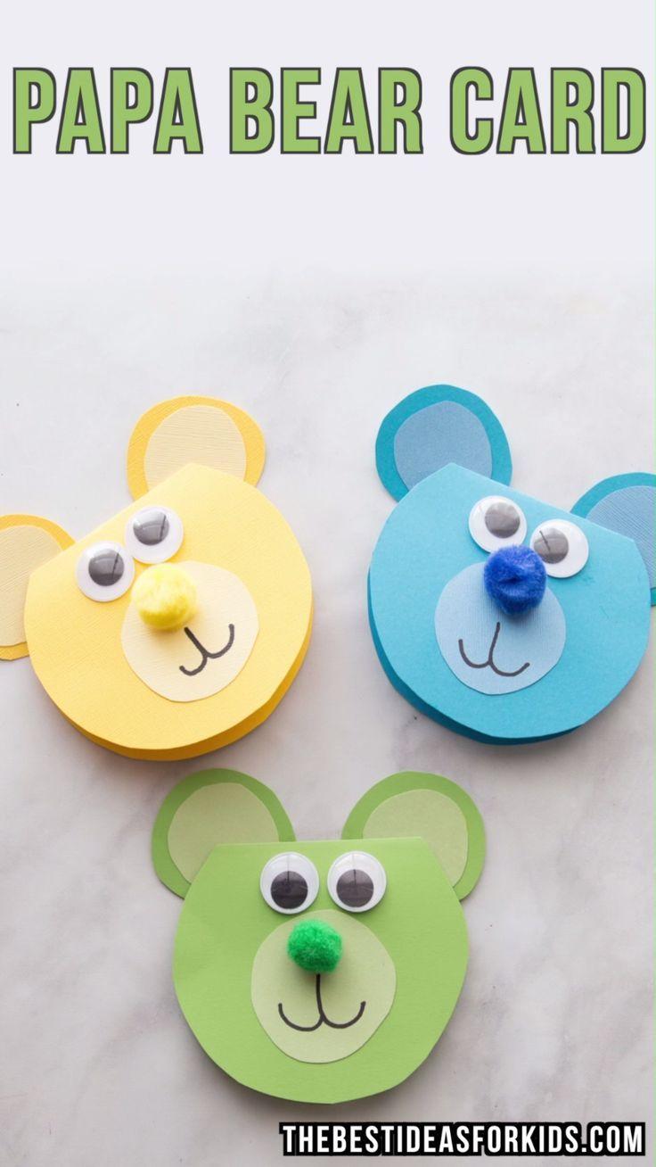 Bear Craft - The Best Ideas for Kids