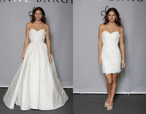 convertible wedding gown Convertible Bridal Gown to Make an ...