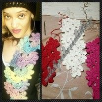 This beautiful hand-crafted scarf is made to dress up a casual outfit, be worn on a date, or accentuate a work outfit. Comes in an array of colors & also available in other material.  ~Handmade By MelodyCadenza ~Made With 100% Soft Acrylic ~Machine Washed w/Tide  ~Product Care: Machine Wash...