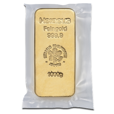 1kg Gold Bullion Heraeus Gold Bar Circulated Gold Bullion Buying Gold Buy Gold Jewelry
