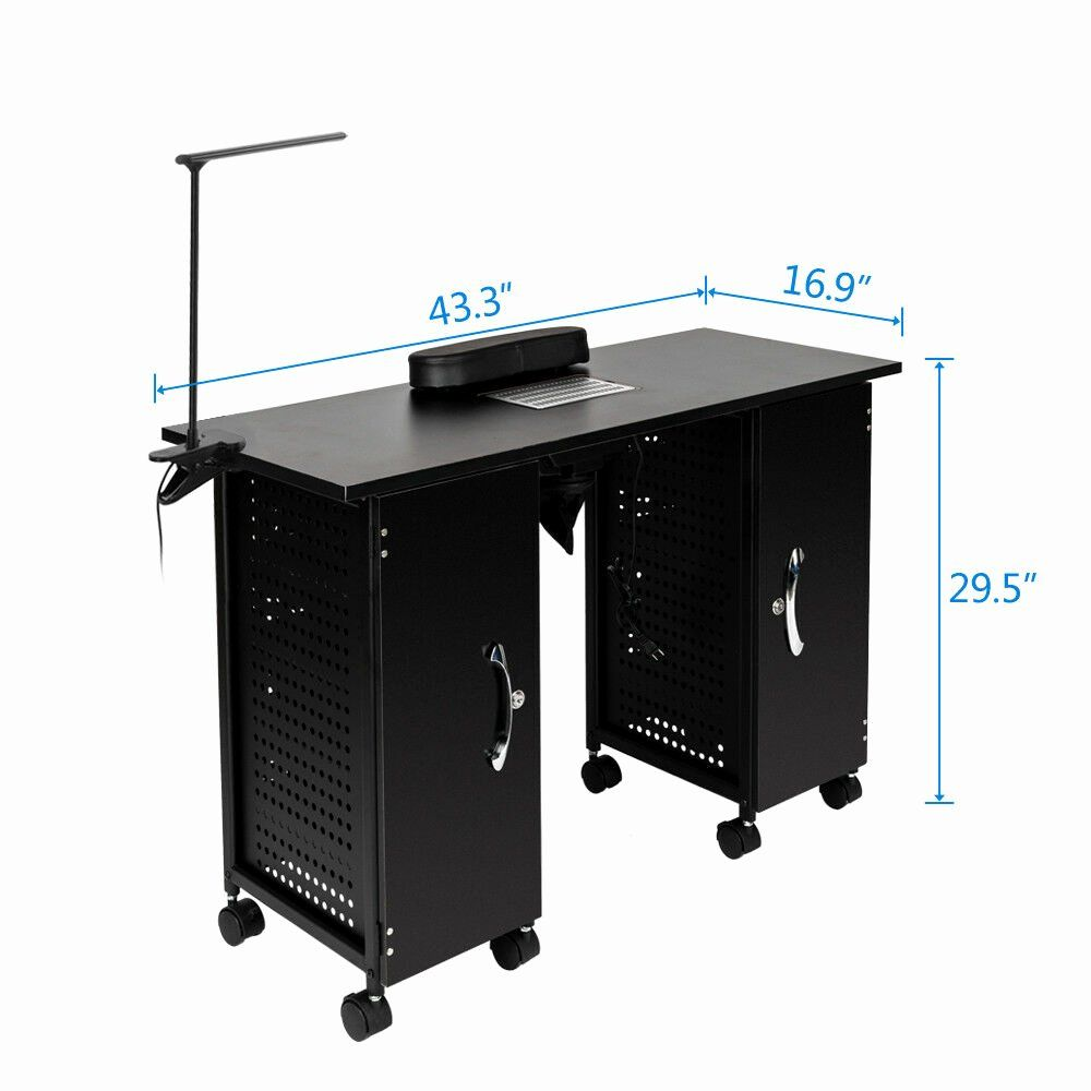 Nail Station for Rent Beautiful Manicure Foldable Table