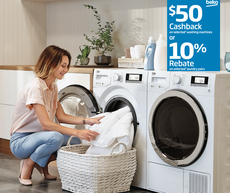 Buy A Selected Combination Of Washing Machine Dryer And Get 10 Rebate On The Purchase Price Beko Are Offering A Washing Machine Dryer Beko Washing Machine