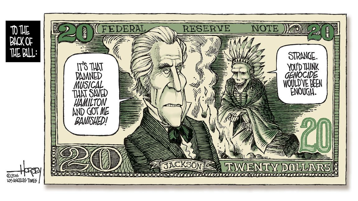 As the $20 bill gets a new face, Andrew Jackson's sins are ...