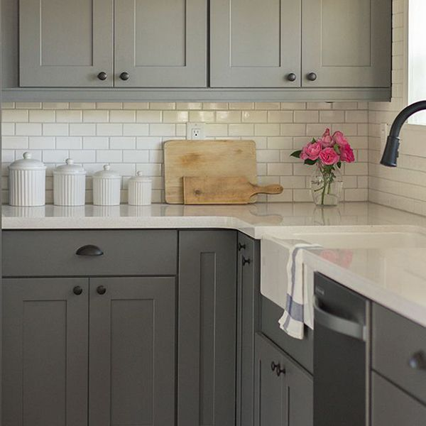 White Kitchen Cabinets For Sale: Grey Kitchen Cabinets For Sale