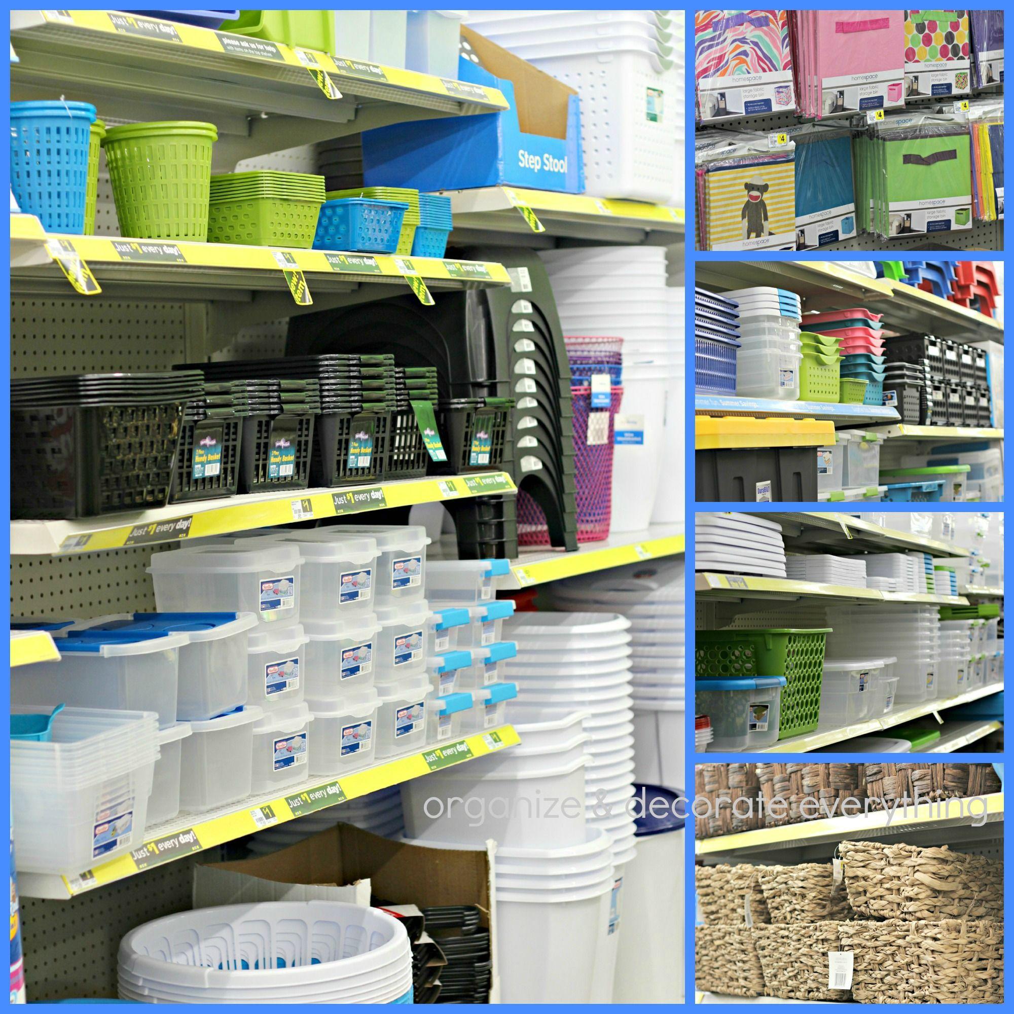 Kitchen Organization Where To Put Everything: Organize The Kitchen With Dollar General