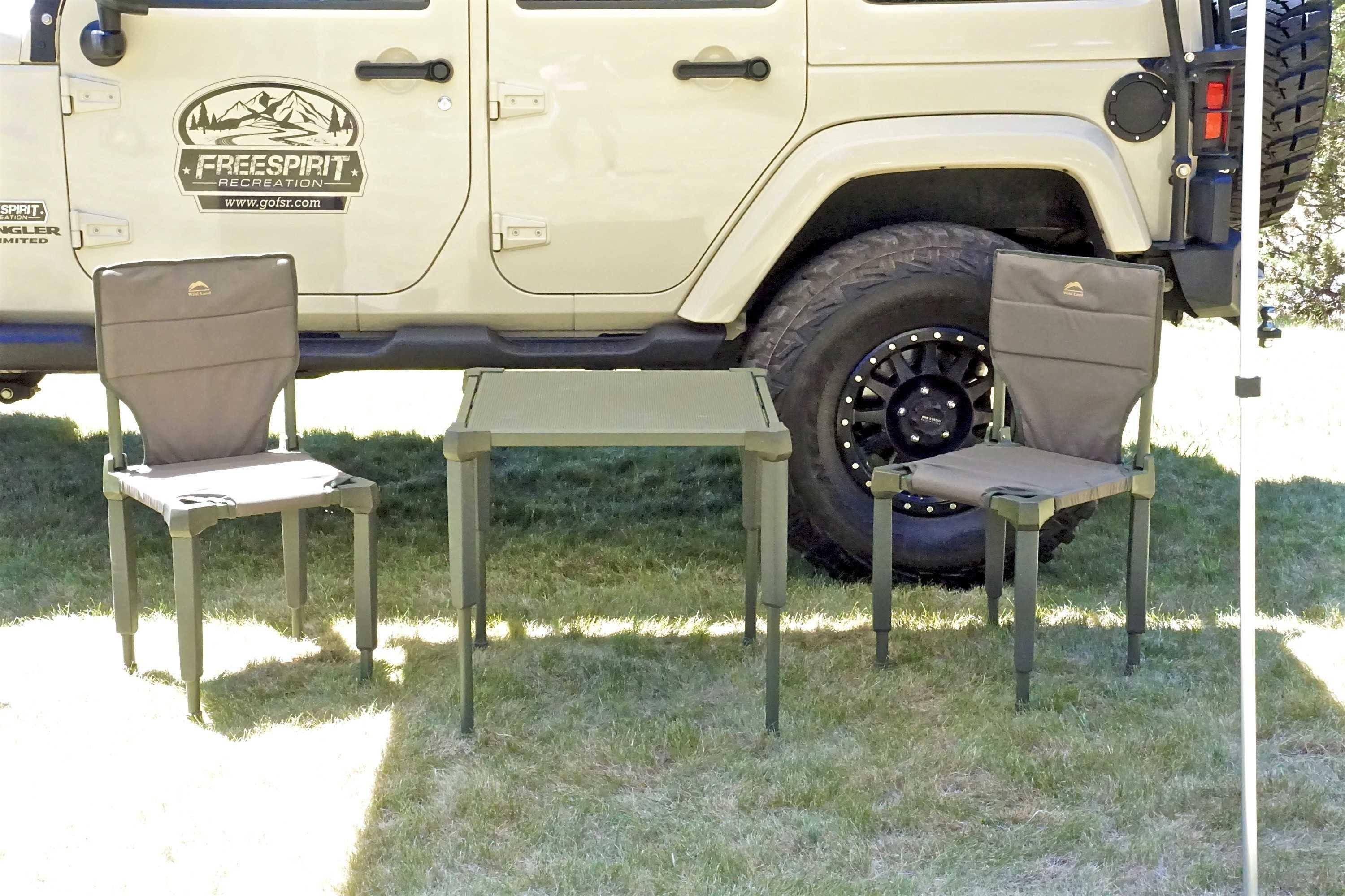 Fsr Portable Camping Table Chair Set