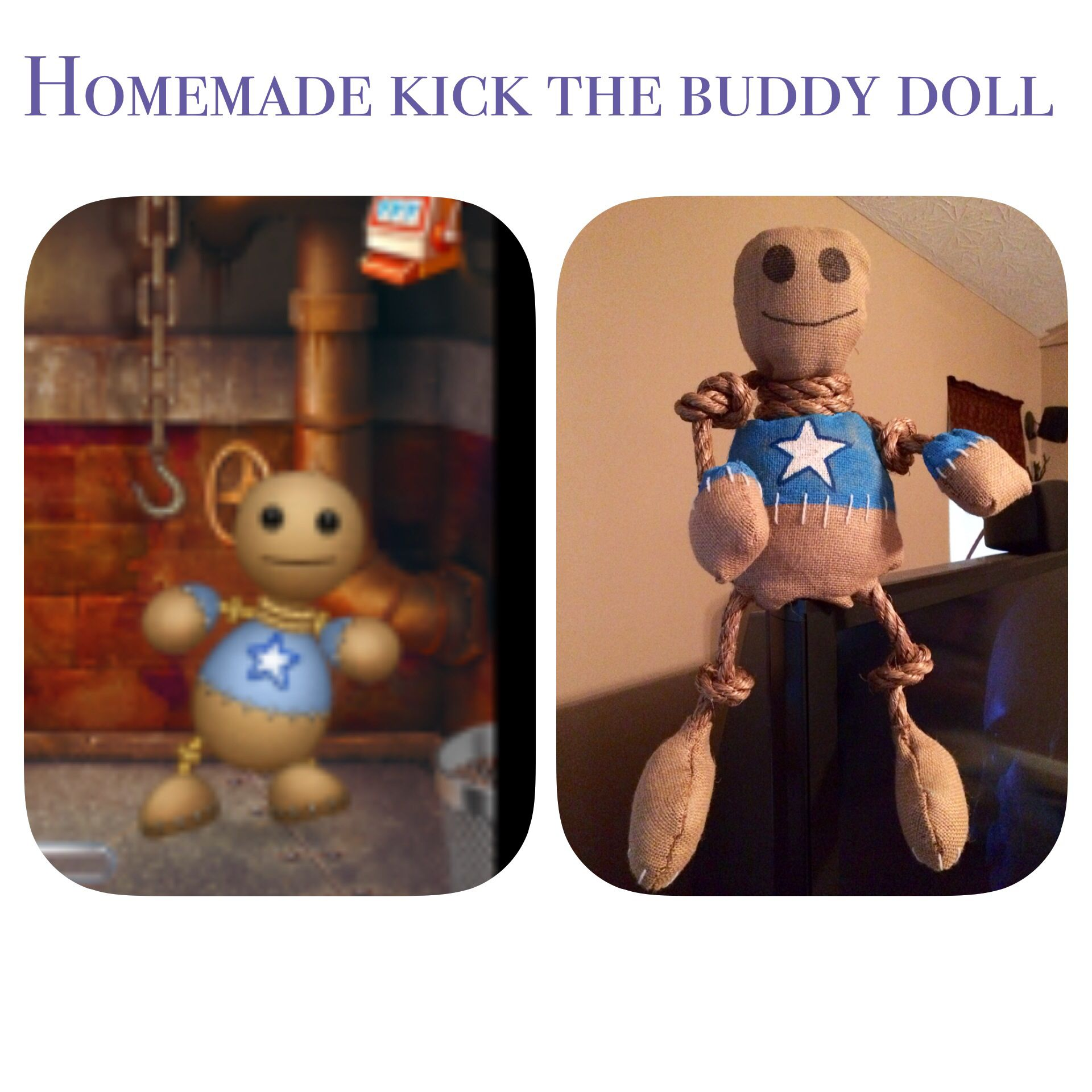 My 8 Yr Old Son Wanted A Kick The Buddy Doll Just Like His