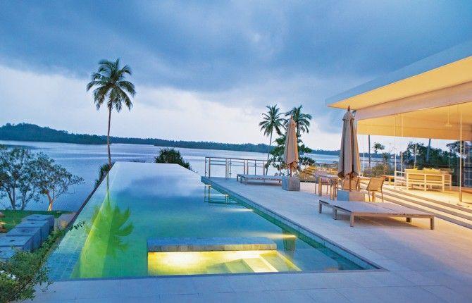 Tri is sri lanka s first five star jungle resort features for Maxim design hotel 3 star