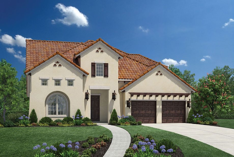 The juniper tx is a luxurious toll brothers home design