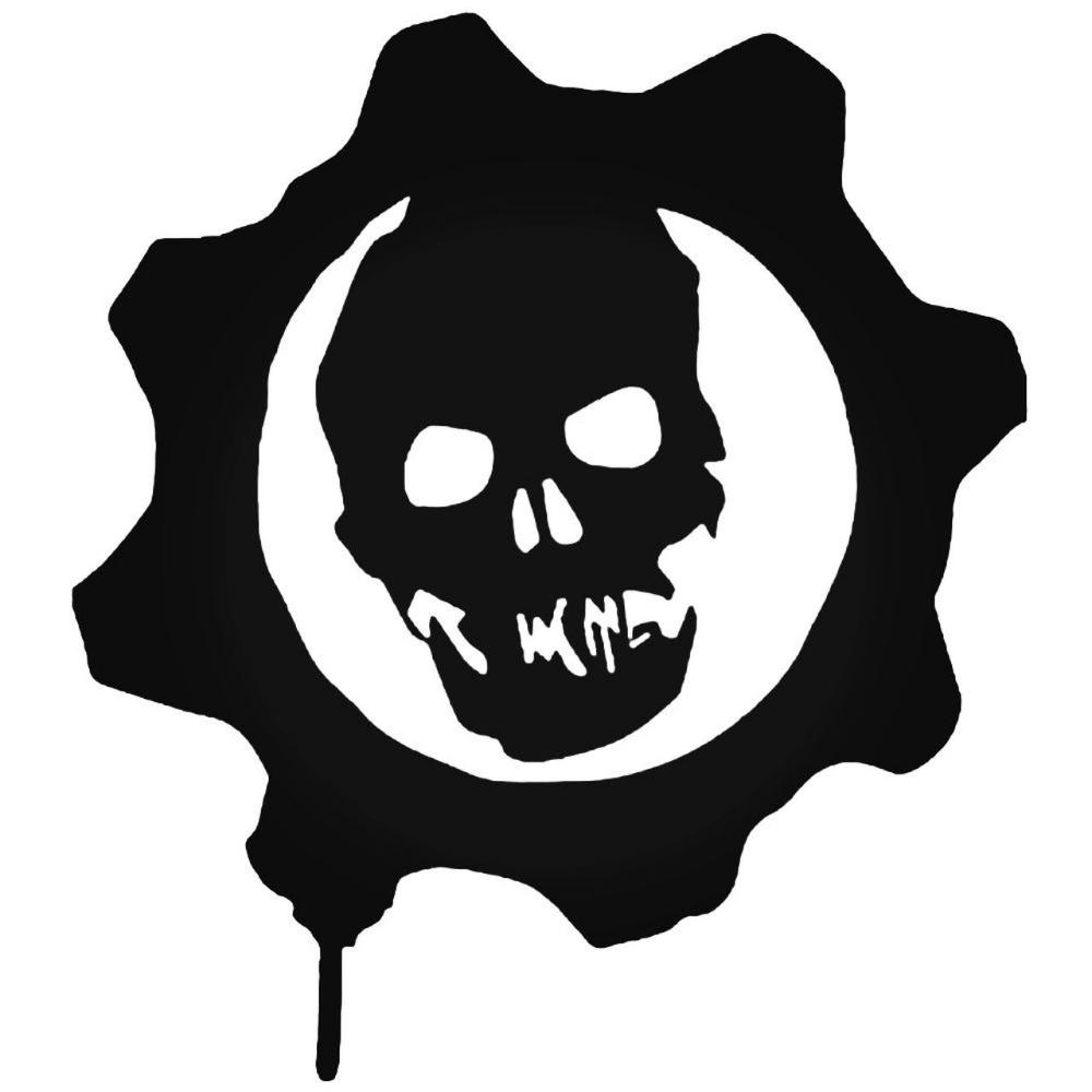 Gears Google Search Gears Of War Vinyl Decal Stickers Vinyl Decals